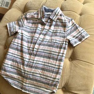 Boys Button Down Dress Shirt - Short sleeves